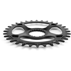 Garbaruk Chainring Oval for Shimano XTR M9100 black